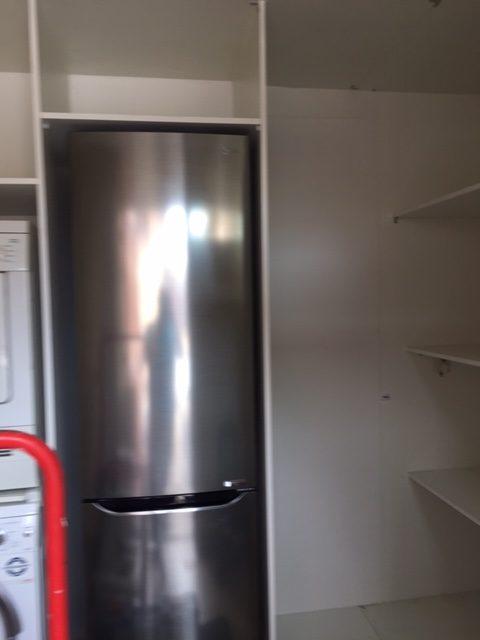 Kasten Op Maat Maken In Een Berging Voor De Wasmachine En